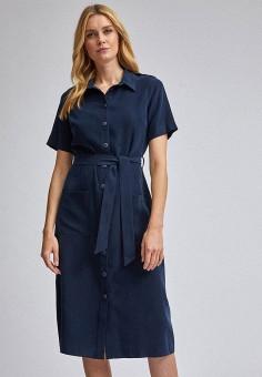 Платье, Dorothy Perkins, цвет: синий. Артикул: DO005EWJCSX8. Одежда / Платья и сарафаны / Повседневные платья