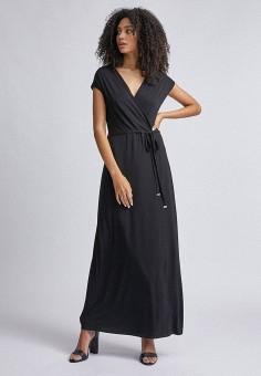 Платье, Dorothy Perkins, цвет: черный. Артикул: DO005EWJGHD0. Одежда / Платья и сарафаны / Повседневные платья