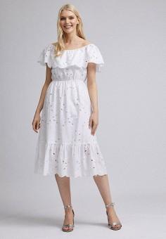 Платье, Dorothy Perkins, цвет: белый. Артикул: DO005EWJGHI0.