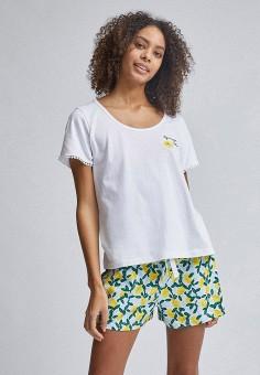 Пижама, Dorothy Perkins, цвет: белый. Артикул: DO005EWJGIO7. Одежда / Домашняя одежда