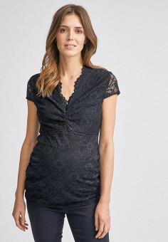 Блуза, Dorothy Perkins Maternity, цвет: черный. Артикул: DO028EWIEZT9. Одежда / Одежда для беременных