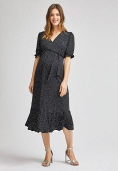 Платье, Dorothy Perkins Maternity, цвет: черный. Артикул: DO028EWILKR3. Одежда