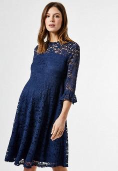 Платье, Dorothy Perkins Maternity, цвет: синий. Артикул: DO028EWJGHA2. Одежда / Одежда для беременных