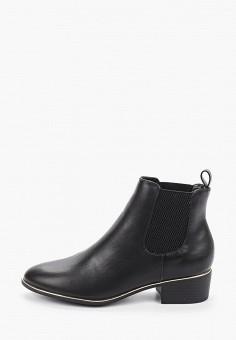 Ботинки, Dorothy Perkins, цвет: черный. Артикул: DO029AWIASF8. Обувь / Ботинки / Челси