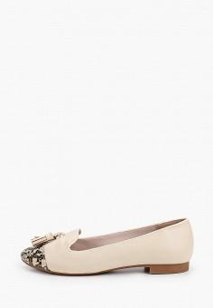 Лоферы, Dorothy Perkins Curve, цвет: бежевый. Артикул: DO029AWIASI8. Обувь / Туфли / Лоферы