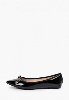 Балетки, Dorothy Perkins, цвет: черный. Артикул: DO029AWIFAH4. Обувь / Балетки