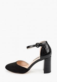 Туфли, Dorothy Perkins, цвет: черный. Артикул: DO029AWIKOS9. Обувь / Обувь с увеличенной полнотой