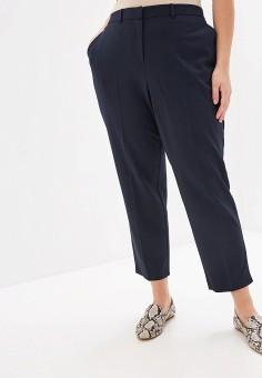 Брюки, Dorothy Perkins Curve, цвет: синий. Артикул: DO029EWFPUK7. Одежда / Брюки / Классические брюки