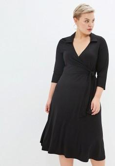 Платье, Dorothy Perkins Curve, цвет: черный. Артикул: DO029EWHBBI6.