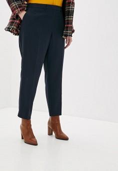 Брюки, Dorothy Perkins Curve, цвет: синий. Артикул: DO029EWHKYO2. Одежда / Брюки / Классические брюки