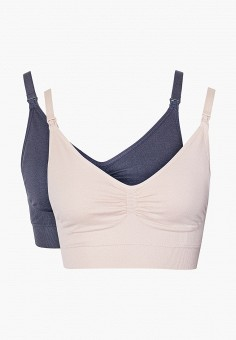 Комплект, Dorina, цвет: розовый, серый. Артикул: DO038EWJNEI5. Одежда / Одежда для беременных