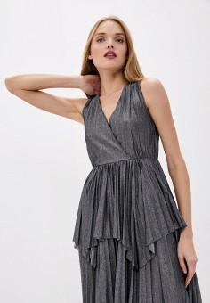 Топ, Dorothee Schumacher, цвет: серебряный. Артикул: DO043EWHNQZ7. Одежда / Топы и майки