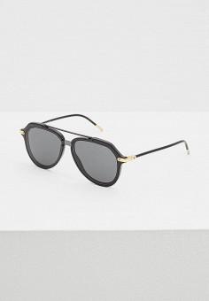 Очки солнцезащитные, Dolce&Gabbana, цвет: черный. Артикул: DO260DMASZS1. Аксессуары