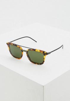 Очки солнцезащитные, Dolce&Gabbana, цвет: коричневый. Артикул: DO260DMDRYH6. Аксессуары