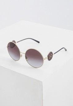 Очки солнцезащитные, Dolce&Gabbana, цвет: золотой. Артикул: DO260DWFTRS2. Аксессуары