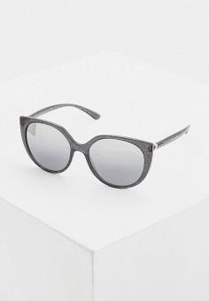 Очки солнцезащитные, Dolce&Gabbana, цвет: серый. Артикул: DO260DWHFUB7. Аксессуары / Очки