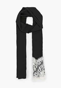 Палантин, Dolce&Gabbana, цвет: черный. Артикул: DO260GWJKJT9. Аксессуары / Платки и шарфы