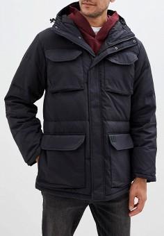 Пуховик, Dockers, цвет: черный. Артикул: DO927EMFPGO3. Одежда / Верхняя одежда / Пуховики и зимние куртки / Пуховики