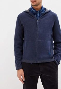 Кардиган, Dockers, цвет: синий. Артикул: DO927EMFPGR1. Одежда / Джемперы, свитеры и кардиганы / Кардиганы