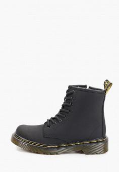 Ботинки, Dr. Martens, цвет: черный. Артикул: DR004AKFPZU9. Мальчикам / Обувь / Ботинки