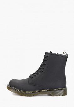 Ботинки, Dr. Martens, цвет: черный. Артикул: DR004AKFPZV0. Мальчикам / Обувь / Ботинки