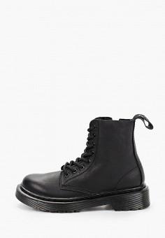 Ботинки, Dr. Martens, цвет: черный. Артикул: DR004AKIYWS8. Мальчикам / Обувь / Ботинки