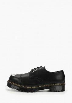 Ботинки, Dr. Martens, цвет: черный. Артикул: DR004AMFPZM2. Обувь / Ботинки / Низкие ботинки