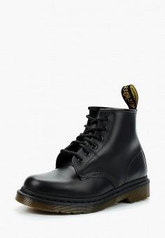 Ботинки, Dr. Martens, цвет: черный. Артикул: DR004AUASWK1. Обувь / Ботинки / Высокие ботинки