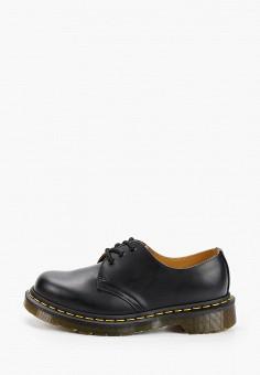 Ботинки, Dr. Martens, цвет: черный. Артикул: DR004AUFL814. Обувь / Ботинки / Низкие ботинки