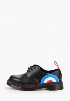 Ботинки, Dr. Martens, цвет: черный. Артикул: DR004AUFPZN1. Обувь / Ботинки / Низкие ботинки