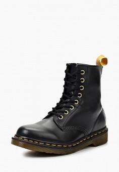 Ботинки, Dr. Martens, цвет: черный. Артикул: DR004AWJV713. Обувь / Ботинки / Высокие ботинки