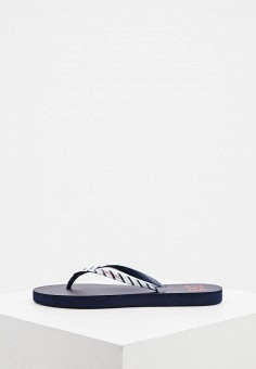 Сланцы, EA7, цвет: синий. Артикул: EA002AWHKYF8. Обувь / Резиновая обувь