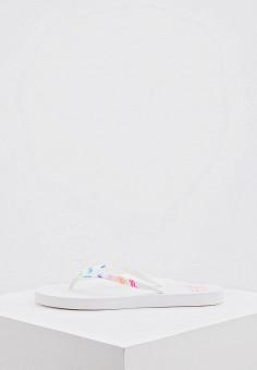 Сланцы, EA7, цвет: белый. Артикул: EA002AWHKYF9. Обувь / Резиновая обувь