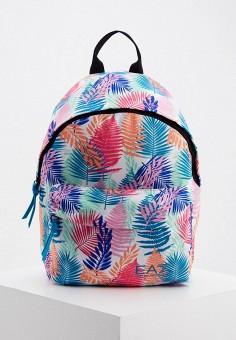 Рюкзак, EA7, цвет: белый. Артикул: EA002BWHKYI1. Аксессуары / Рюкзаки