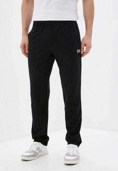 Брюки спортивные, EA7, цвет: черный. Артикул: EA002EMHKYK7. Одежда / Брюки / Спортивные брюки