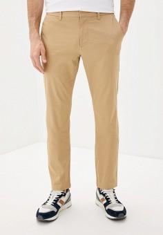 Брюки, EA7, цвет: бежевый. Артикул: EA002EMHLEA6. Одежда / Брюки / Повседневные брюки