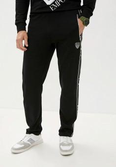 Брюки спортивные, EA7, цвет: черный. Артикул: EA002EMJUUQ8. Одежда / Брюки