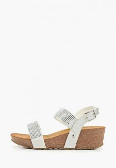 Сандалии, Ella, цвет: серебряный. Артикул: EL023AWEMDH8. Обувь / Сандалии