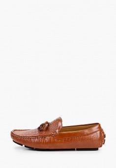 Мокасины, Elong, цвет: коричневый. Артикул: EL025AMIEGT9. Обувь / Мокасины и топсайдеры