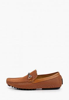 Мокасины, Elong, цвет: коричневый. Артикул: EL025AMIEGU3. Обувь / Мокасины и топсайдеры