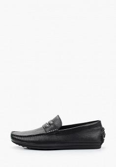 Мокасины, El'Rosso, цвет: черный. Артикул: EL032AMJCLN8. Обувь / Мокасины и топсайдеры