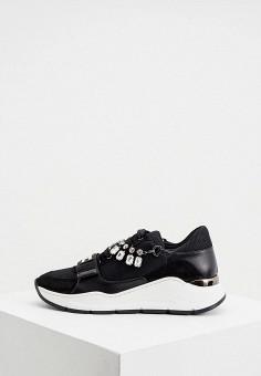 Кроссовки, Elisabetta Franchi, цвет: черный. Артикул: EL037AWHGWH9. Premium