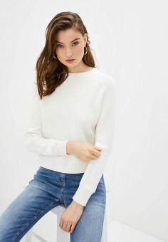 Джемпер, Elisabetta Franchi, цвет: белый. Артикул: EL037EWHGWE4. Одежда / Джемперы, свитеры и кардиганы / Джемперы и пуловеры / Джемперы