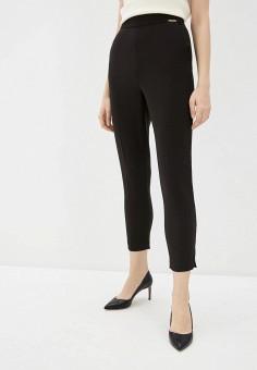 Брюки, Elisabetta Franchi, цвет: черный. Артикул: EL037EWHGWF0. Одежда / Брюки / Классические брюки