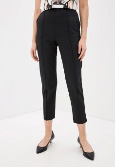Брюки, Elisabetta Franchi, цвет: черный. Артикул: EL037EWHGWF5. Одежда / Брюки / Классические брюки