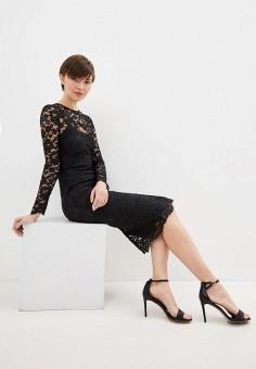 Платье, Elisabetta Franchi, цвет: черный. Артикул: EL037EWIMPN1. Одежда / Платья и сарафаны / Вечерние платья