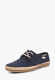 Эспадрильи, El Tempo, цвет: синий. Артикул: EL072AMAANF2. Обувь