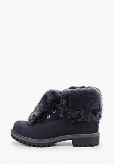 Ботинки, El Tempo, цвет: синий. Артикул: EL072AWFTSY6. Обувь / Ботинки / Высокие ботинки