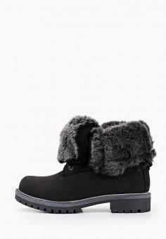 Ботинки, El Tempo, цвет: черный. Артикул: EL072AWFTSY8. Обувь / Ботинки / Высокие ботинки