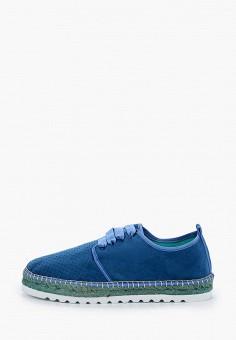 Эспадрильи, El Tempo, цвет: синий. Артикул: EL072AWIQDU5. Обувь / Эспадрильи